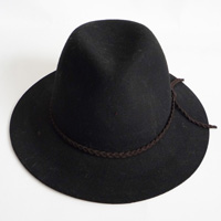 hat with PU string
