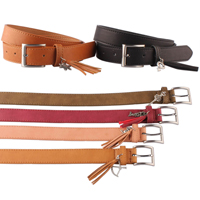 belt with fringers